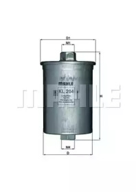 KL204 KNECHT Топливный фильтр