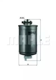 KL75 KNECHT Фільтр паливний VW 1,6/1,9D/TD/TDI 87- (з підігрівом)