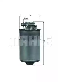 KL154 KNECHT Топливный фильтр-1