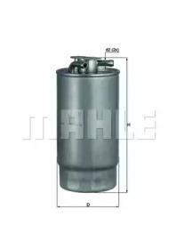 KL1601 KNECHT Фільтр паливний BMW 330D/530D 8/98-