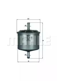 KL186 KNECHT Топливный фильтр