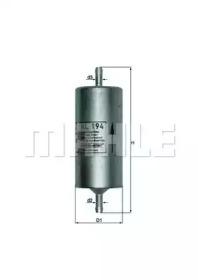KL194 KNECHT Топливный фильтр
