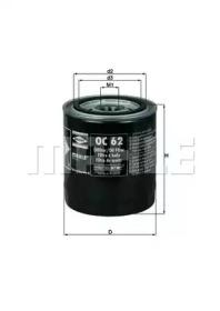 OC62 KNECHT Масляный фильтр