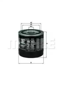 OC63 KNECHT Масляный фильтр