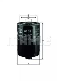OC26 KNECHT Масляный фильтр