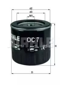 OC7 KNECHT Фильтр масла