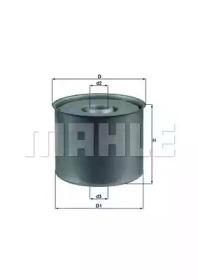 KX23D KNECHT PLFiltr paliwa (wk