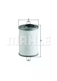 KX43 KNECHT Топливный фильтр