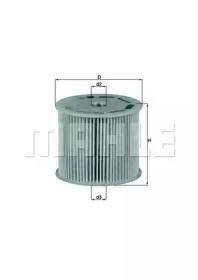KX85D KNECHT Топливный фильтр