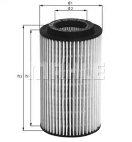 OX153D2 KNECHT Масляный фильтр