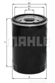 OC131 KNECHT Масляный фильтр -1