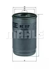KC117 KNECHT Топливный фильтр-1