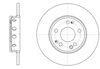 D605900 WOKING Тормозной диск
