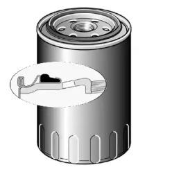 LS936 PURFLUX Фільтр масляний Kia Sorento/Hyundai H-1 2.5 CRDi 02- -1