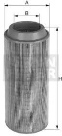 C332200 MANN-FILTER Воздушный фильтр