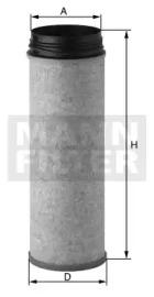 CF1430 MANN-FILTER Фильтр воздуха