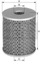 H152222 MANN-FILTER Фильтр масла