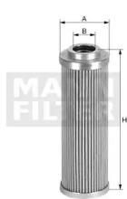 HD5718 MANN-FILTER Фильтр, Гидравлическая система привода рабочего оборудования