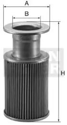 HD76 MANN-FILTER Гидравлический фильтр