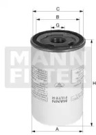 LB9628 MANN-FILTER Фильтр масла