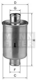 W761 MANN-FILTER Гидравлический фильтр