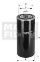 W13747 MANN-FILTER Фильтр масла