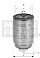 WK9029 MANN-FILTER Топливный фильтр -1