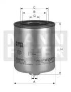 WK9042X MANN-FILTER Топливный фильтр