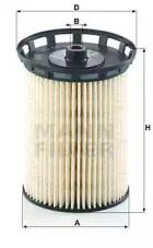 PU10010Z MANN-FILTER Топливный фильтр