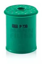 P738X MANN-FILTER Топливный фильтр