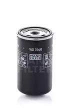 WD7246 MANN-FILTER Гидрофильтр, автоматическая коробка передач; Фильтр, Гидравлическая система привода рабочего оборудования -1