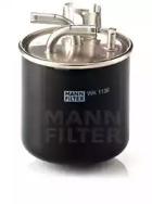 WK1136 MANN-FILTER Топливный фильтр