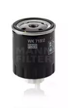 WK7182 MANN-FILTER Топливный фильтр -1