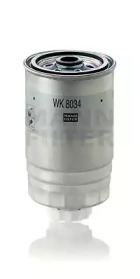 WK8034 MANN-FILTER Топливный фильтр