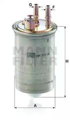WK85318 MANN-FILTER Топливный фильтр -1