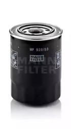 WP92883 MANN-FILTER Масляный фильтр