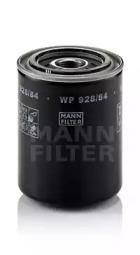 WP92884 MANN-FILTER Масляный фильтр