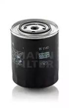 W1140 MANN-FILTER Масляный фильтр; Фильтр, Гидравлическая система привода рабочего оборудования -1