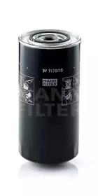 W117015 MANN-FILTER Масляный фильтр