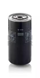 W1170 MANN-FILTER Масляный фильтр, Гидрофильтр, рулевое управление