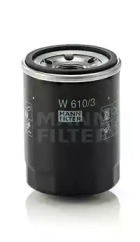 W6103 MANN-FILTER Масляный фильтр