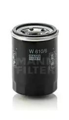 W6106 MANN-FILTER Масляный фильтр