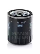 W7043 MANN-FILTER Масляный фильтр