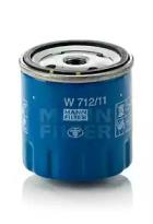 W71211 MANN-FILTER Масляный фильтр