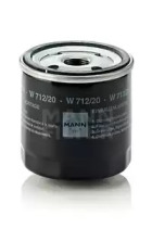 W71220 MANN-FILTER Масляный фильтр