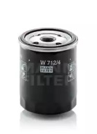 W7124 MANN-FILTER Масляный фильтр, Фильтр, Гидравлическая система привода рабочего оборудования