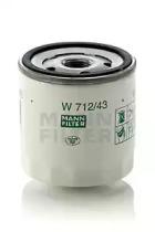 W71243 MANN-FILTER Масляный фильтр