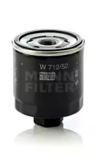 W71252 MANN-FILTER Масляный фильтр