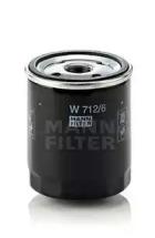 W7126 MANN-FILTER Масляный фильтр