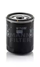 W71282 MANN-FILTER Масляный фильтр